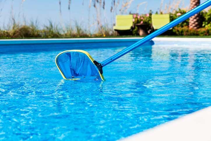 Onderhoud zwembad